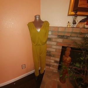 Pre-Owned Shortsleeves Jumpsuit